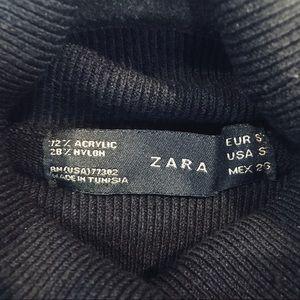 Zara Tops - Zara Black sleeveless turtleneck